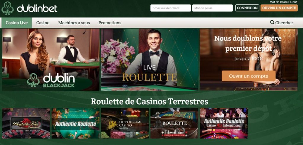 Dublinbet The Best Live Roulette Casino Roulette Method